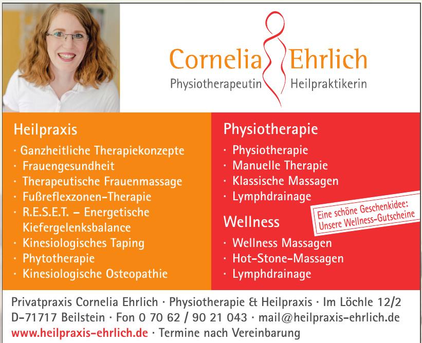 Privatpraxis Cornelia Ehrlich - Physiotherapie & Heilpraxis