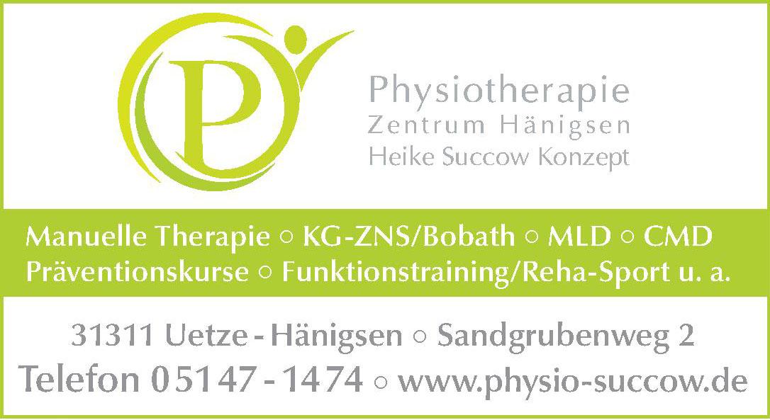 Physiotherapie Zentrum Hänigsen