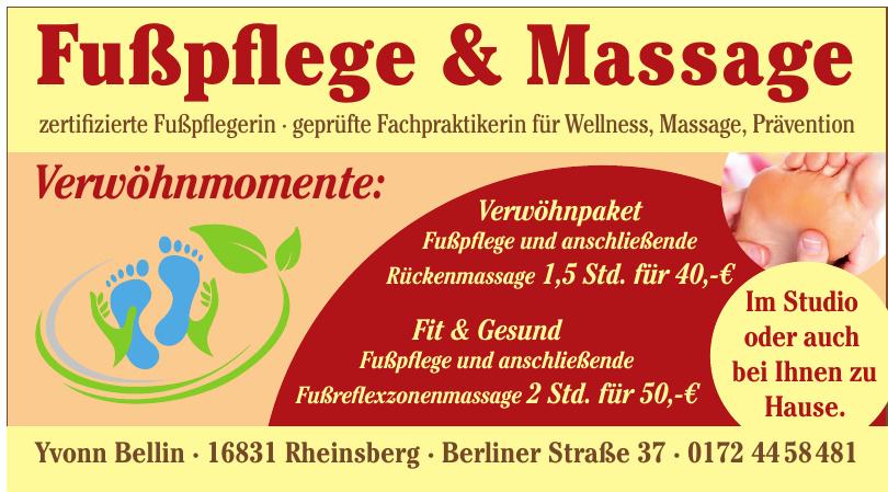 Fußpflege & Massage Yvonn Bellin