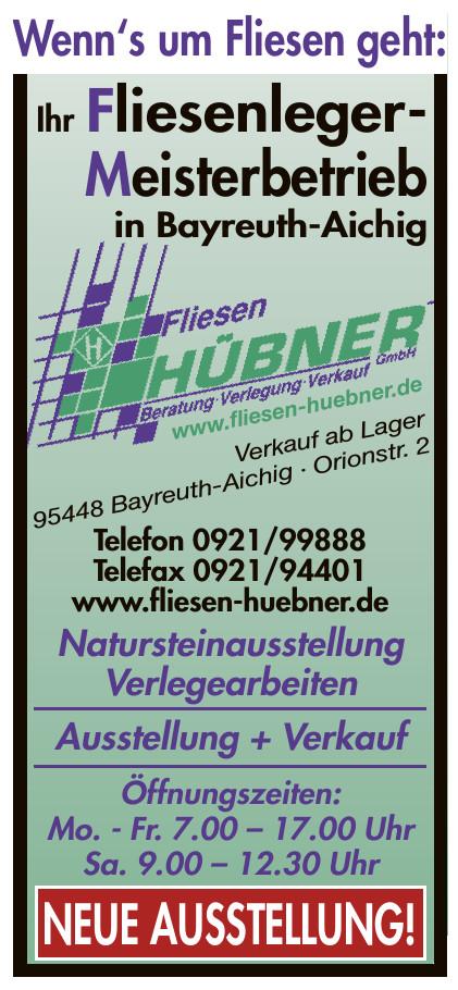 Fliesen Hübner  GmbH