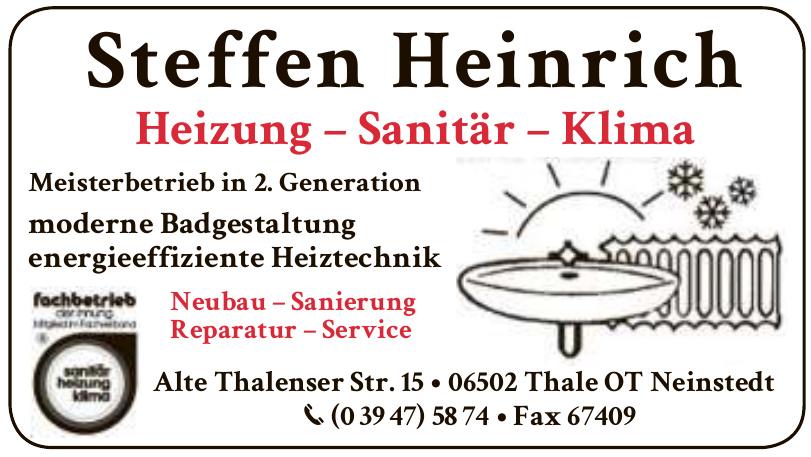Steffen Heinrich - Heizung - Sanitär - Klima