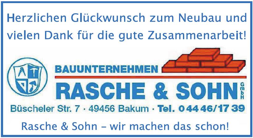 Bauunternehmung Rasche & Sohn GmbH