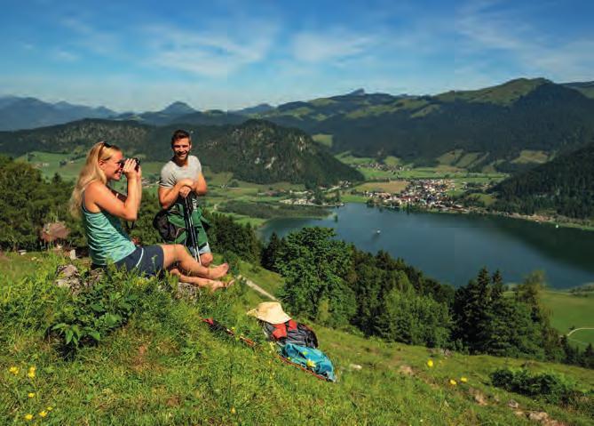 ... ebenso möglich wie Wanderungen in die umliegenden Berge ...