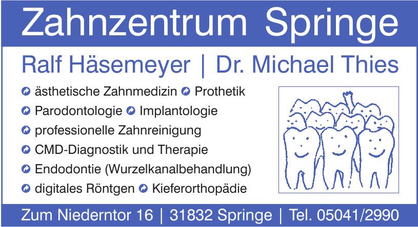 Zahnzentrum Springe - Ralf Häsemeyer - Dr. Michael Thies