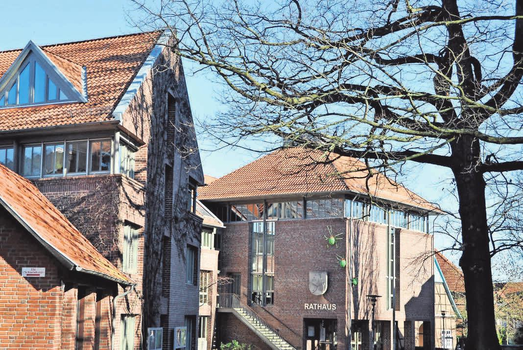 Das Rathaus ist Mittelpunkt der Innenstadt. Foto: Archiv