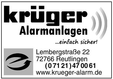 Alarmanlagen Krüger