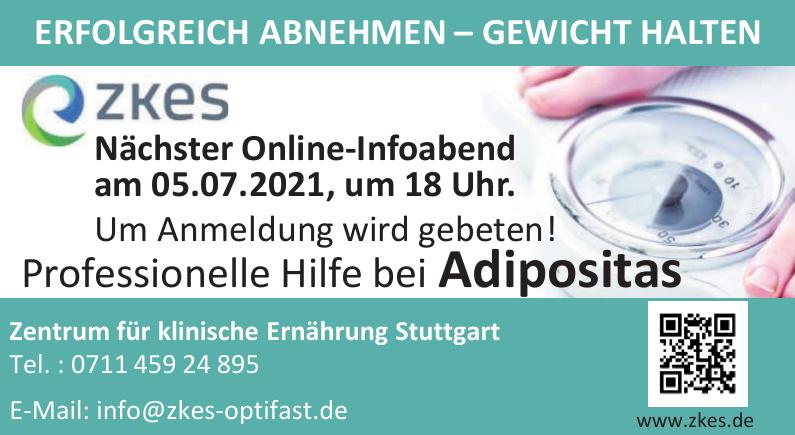 ZKES Zentrum für klinische Ernährung Stuttgart