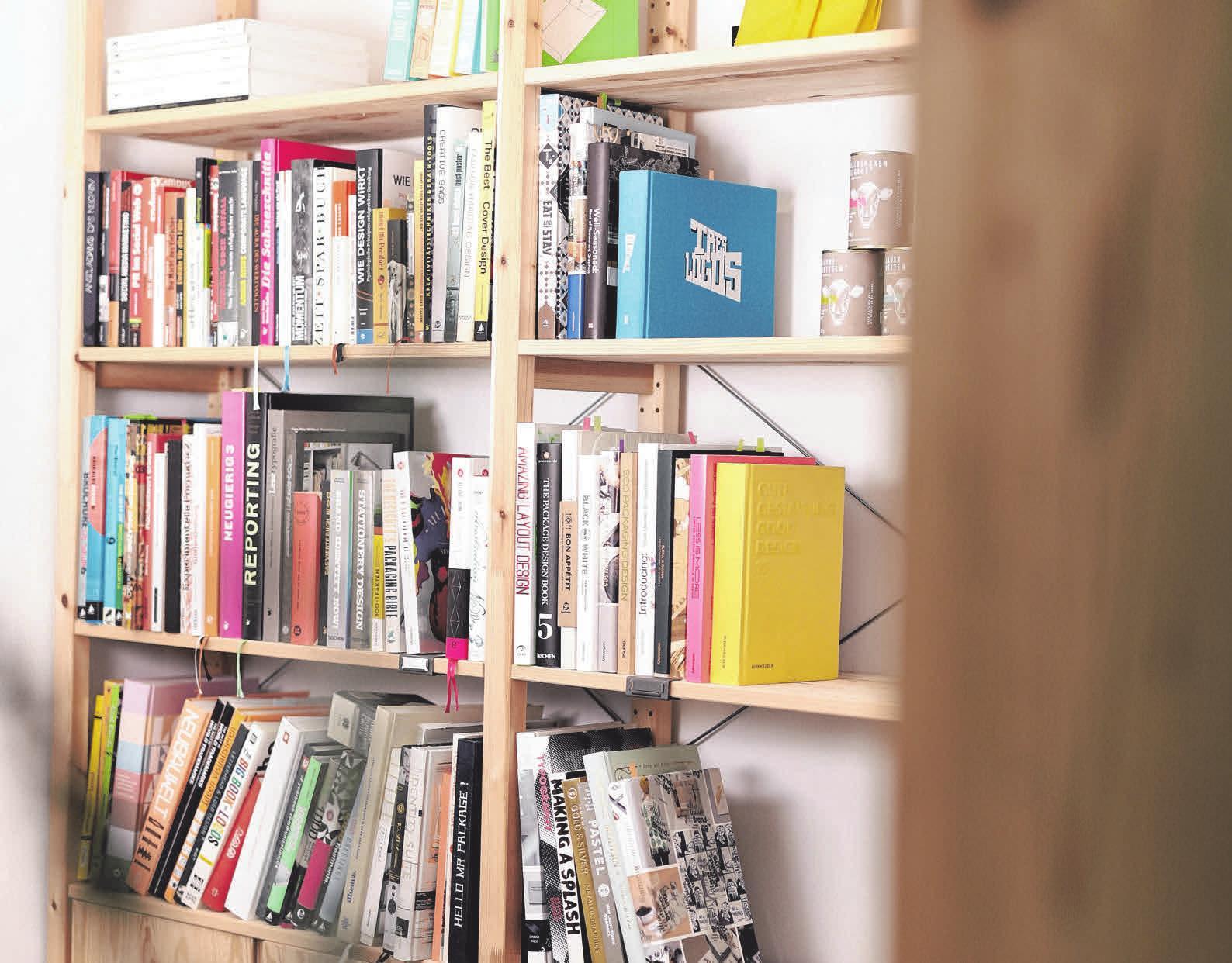 Auch eine Bibliothek mit Fachliteratur aus aller Welt ist im Gebäude integriert. FOTO: ZARTBITTER