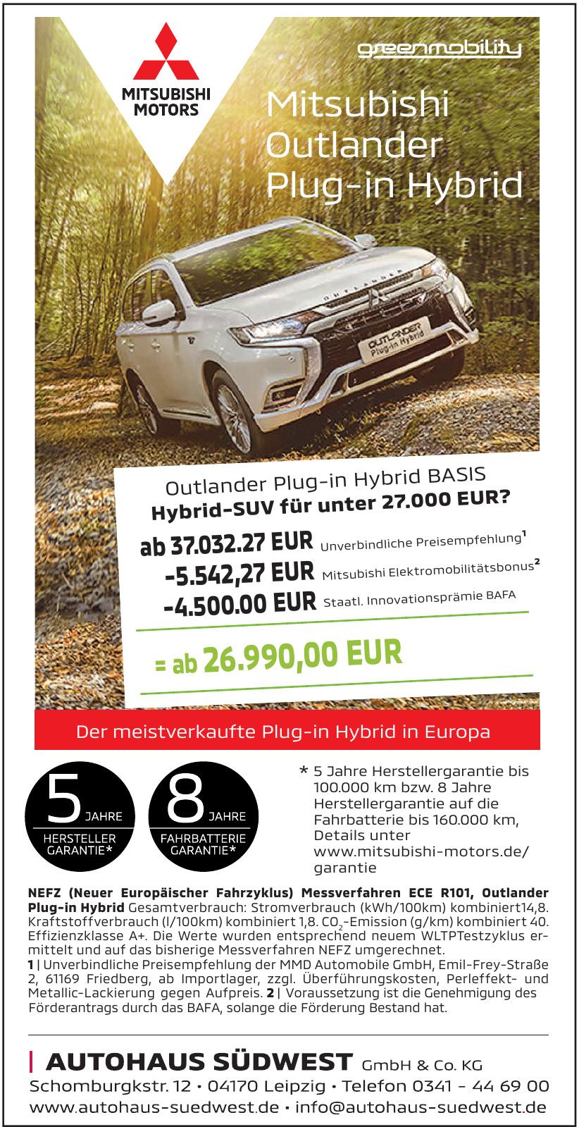 Autohaus Südwest GmbH & Co.KG