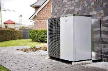 Ideal für die Heizungsmodernisierung: NIBE Luft/Wasser Wärmepumpe F 2120. FOTO: NIBE SYSTEMTECHNIK/AKZ-O
