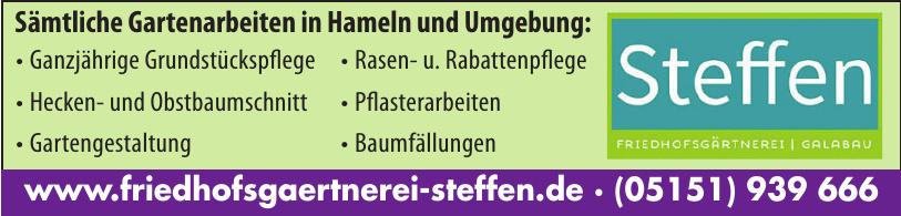 Steffen Friedhofsgärtnerei - Galabau