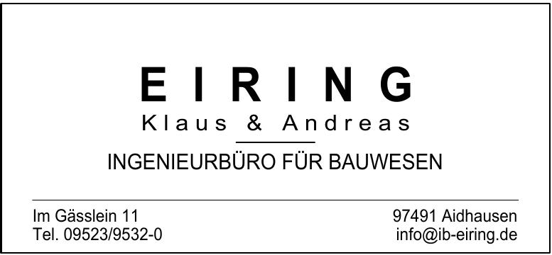 EIRING Klaus & Andreas