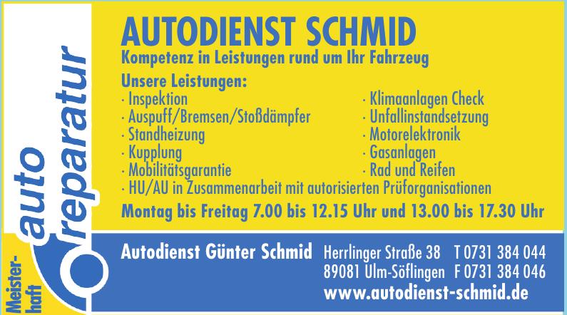 Autodienst Günter Schmid