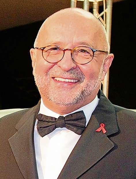 ...und Alfred Weiss haben 1994 die Festliche Operngala für die Deutsche Aids-Stiftung ins Leben gerufen. FOTOS: HO; CHRISTIAN LITZMANN