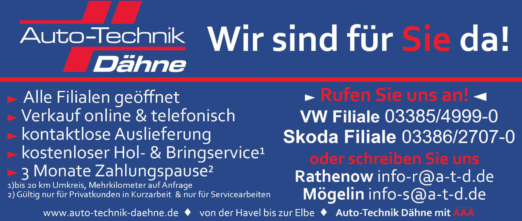 Auto-Technik Dähne - VW Filiale