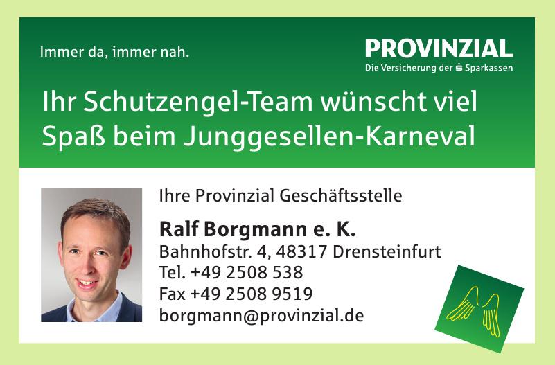 Provinzial Geschäftsstelle Ralf Borgmann e. K.