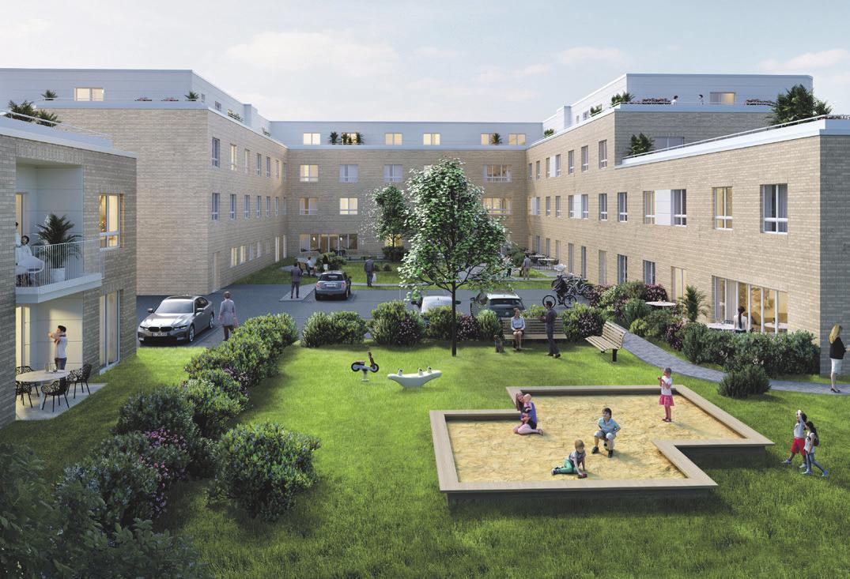 So soll die neue Residenz in Wendeburg einmal aussehen. Visualisierung: Specht Gruppe
