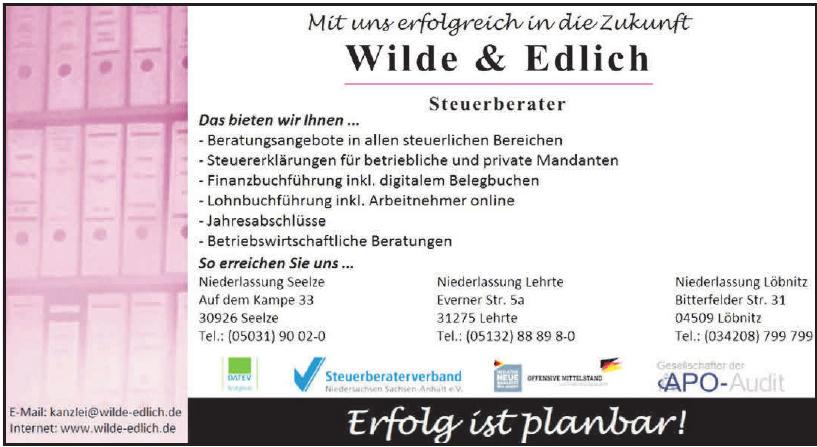 Wilde & Edlich - Steuerberater