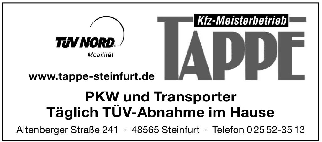 Tappe Kfz-Meisterbetrieb