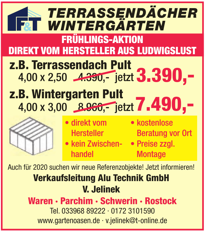 Alu Technik GmbH V. Jelinek