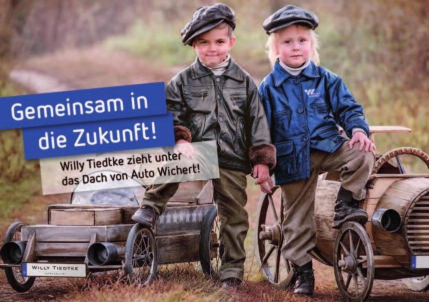 Zwei waschechte Hamburger mit einem gemeinsamen Ziel: Tiedtke und Wichert. Foto: lAuto Wichert GmbH