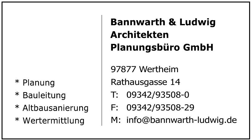 Bannwarth & Ludwig Architekten