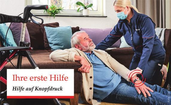 """""""Ich helfe jeden Tag, das ist ein gutes Gefühl"""", so Andre Reger vom Malteser Hausnotruf in Hamburg Image 2"""