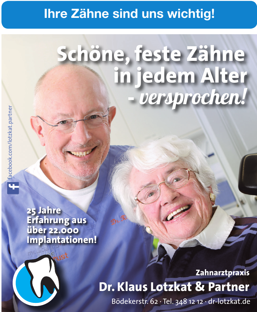 Zahnarztpraxis Dr. Klaus Lotzkat, Dr. Marion Lotzkat & Partner