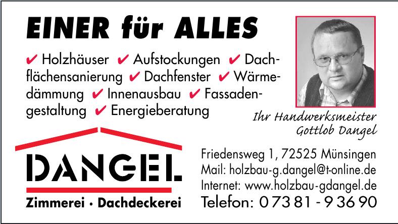 Dangel - Zimmerei - Dachdeckerei