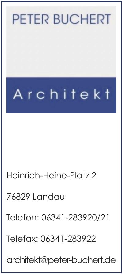 Architekt Peter Buchert