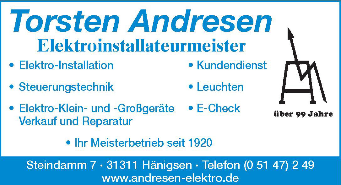Torsten Andresen Elektroinstallateurmeister