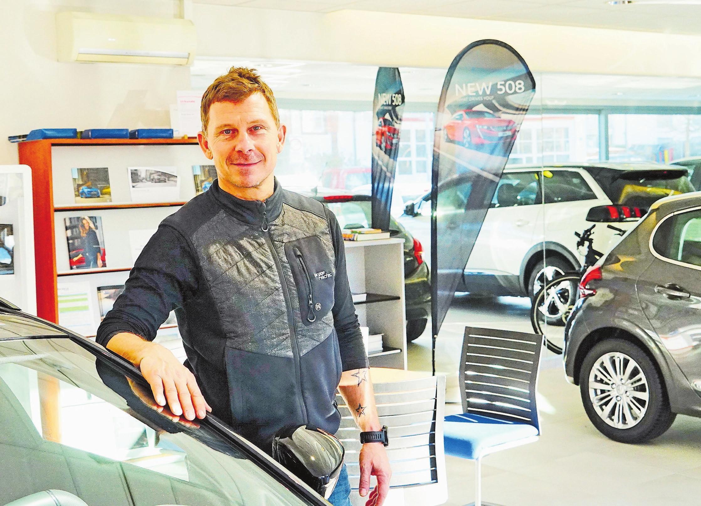 Peter Fischer von der Garage Fischer AG in Dietikon. Bild: Pfann