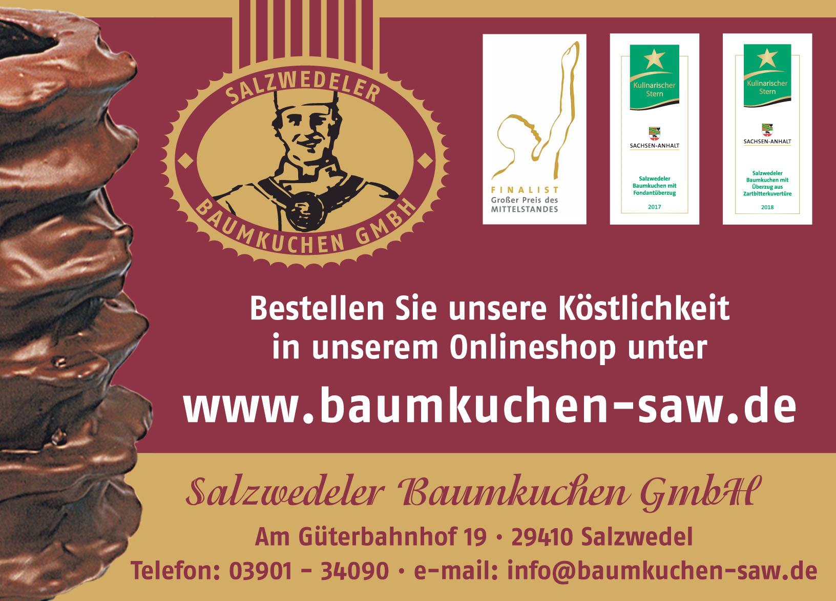 Salzwedeler Baumkuchen GmbH