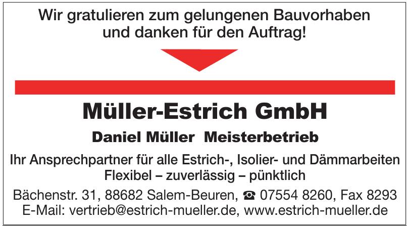 Müller-Estrich GmbH