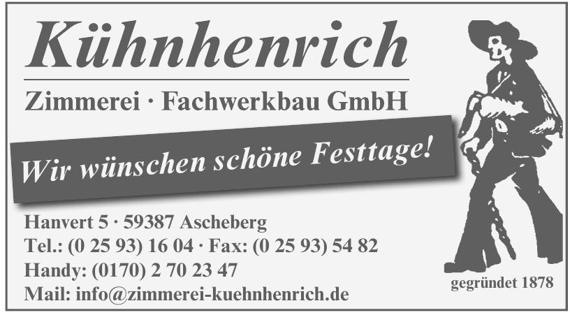 Kühnhenrich Zimmerei Fachwerkbau GmbH