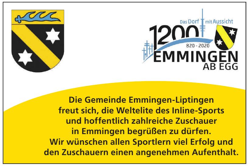 Die Gemeinde Emmingen-Liptingen