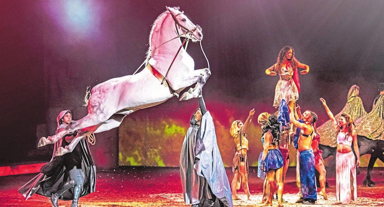 """Die neuen Termine für """"CAVALLUNA – Legende der Wüste"""" in der Wunderino-Arena stehen fest. FOTO: CAVALLUNA"""