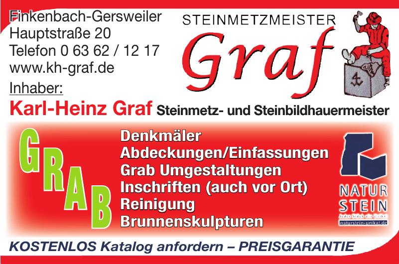 Karl-Heinz Graf Steinmetz- und Steinbildhauermeister