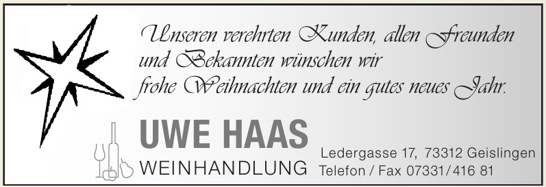 Genuss Insel Weinhandlung Uwe Haas
