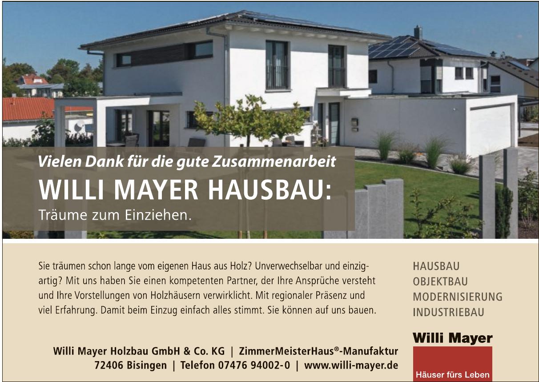 Willi Mayer Holzbau GmbH & Co. KG