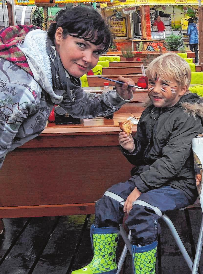 Auch Kinder kommen auf der Frühjahrsmesse auf ihre Kosten.BILD: STADT SPEYER