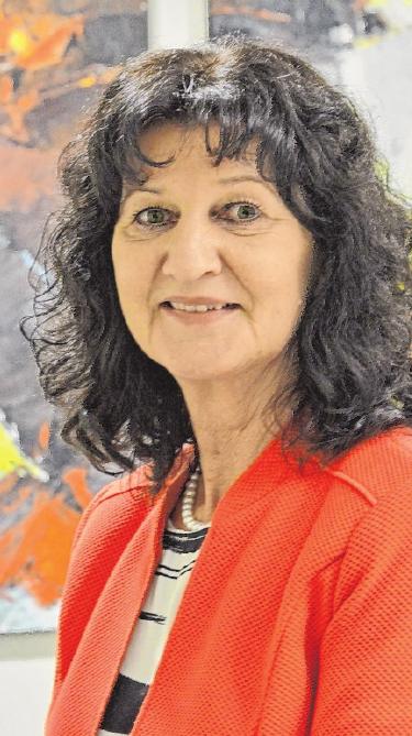 Marktheidenfelds Erste Bürgermeisterin, Helga Schmidt-Neder. FOTO: MARCUS MEIER