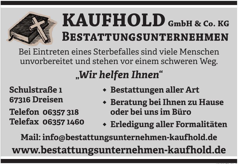 Kaufhold GmbH & Co. KG Bestattungsunternehmen