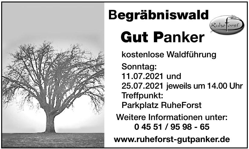 Begräbniswald Gut Panker