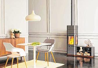 Kaminöfen mit abgerundeten Ecken gelten grundsätzlich als zeitlos und modern. Foto: djd/AUSTROFLAMM GmbH