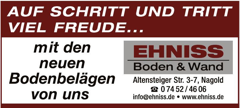 Ehniss - Boden & Wand