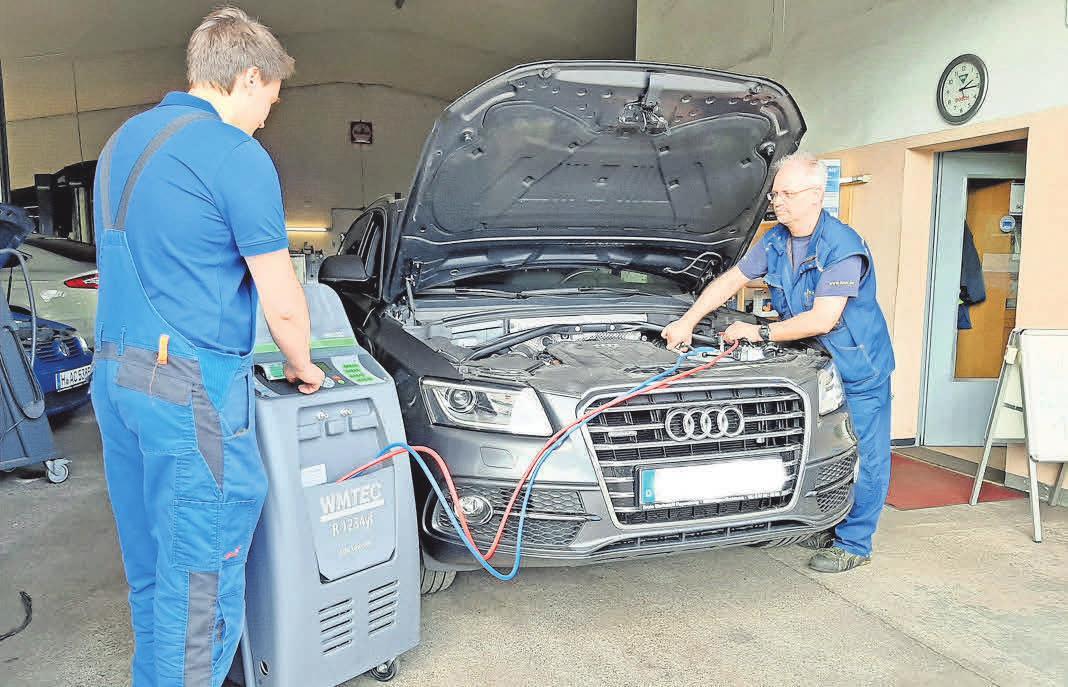 In der Werkstatt Papenberg kann der Service bei Audi und VW nach Herstellervorgaben erfolgen.