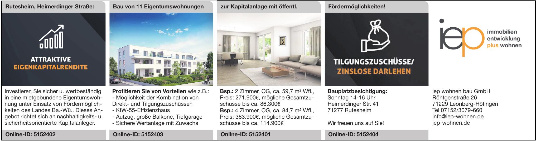 iep wohnen bau GmbH