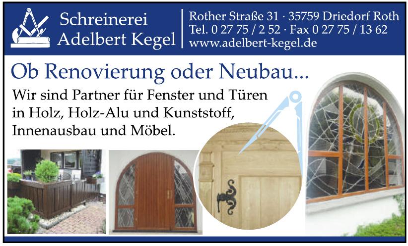 Schreinerei Adelbert Kegel