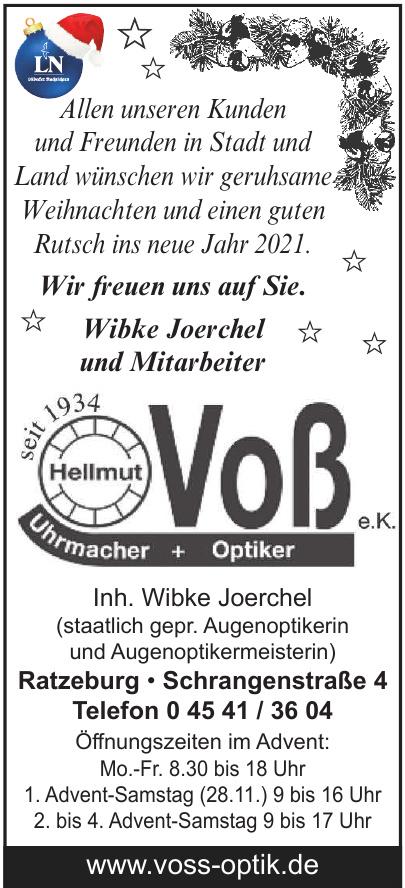 Voß e.K. Uhrmacher + Optiker
